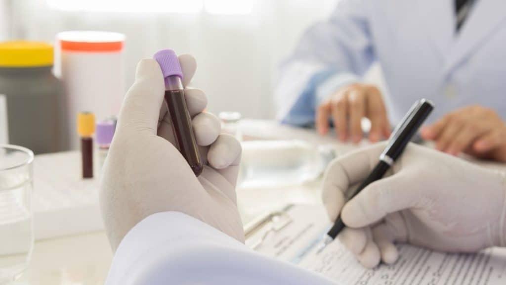 Blutanalyse Labor