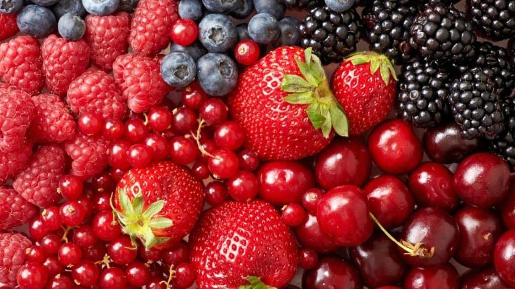 Lebensmittel gegen Müdigkeit Beeren
