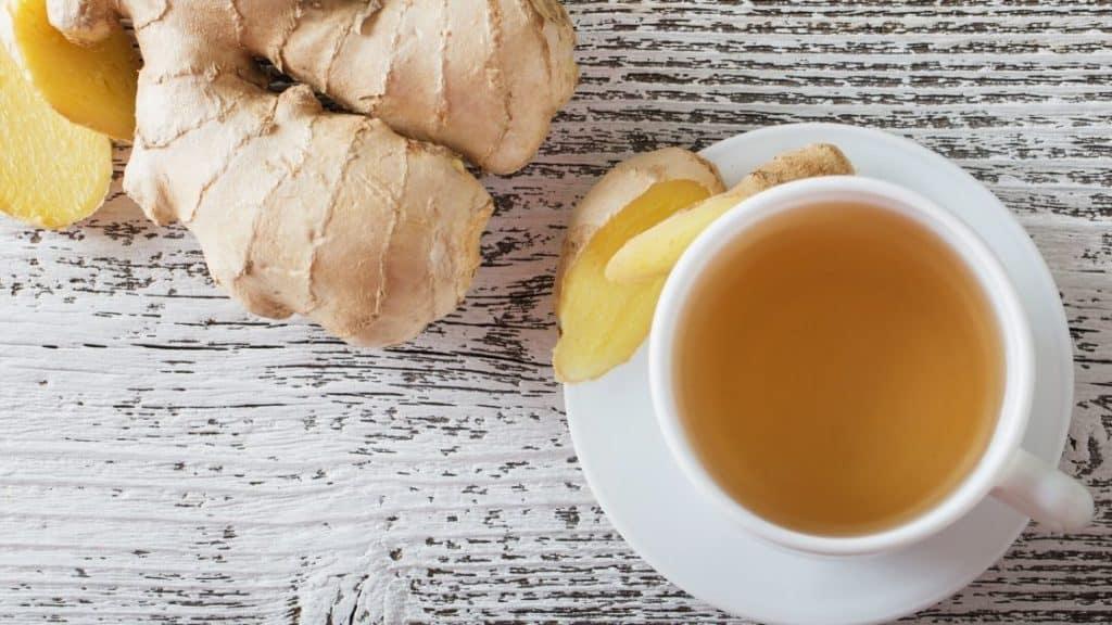 Lebensmittel gegen Müdigkeit Ingwer