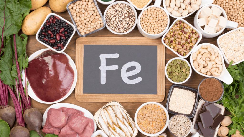Eisenreiche Lebensmittel