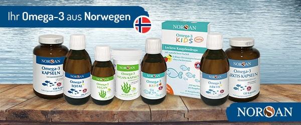 Norsan Erfahrung Fischöl und Algenöl
